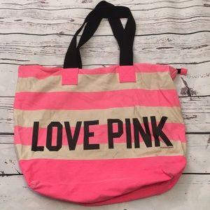 Victoria's Secret PINK canvas tote